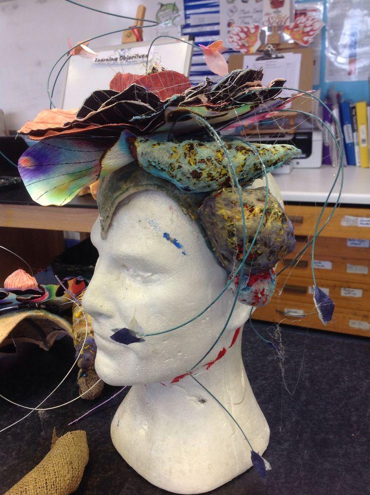 'Order and disorder' exam final piece, Polly | GCSE Art ...
