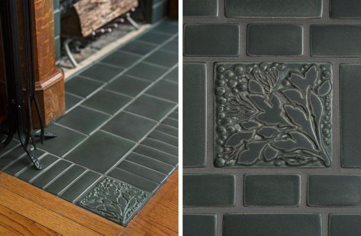 Design Stories Fireplace Tile Hearth Tiles