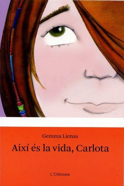 Drawing for Gemma Lienas' book 'Així es la vida, Carlota', published by Estrella Polar, 2009.