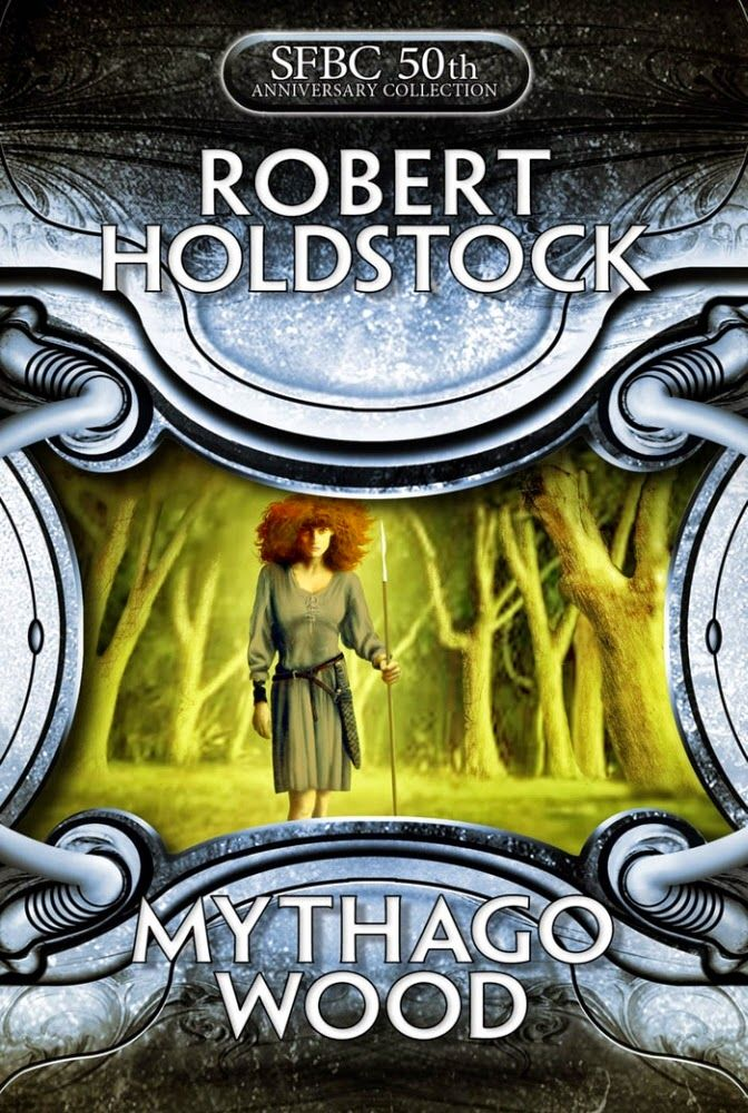 Robert Holdstock: Mythago wood | english cover | #book #cover #robertholdstock #wood #bookcover #mythago