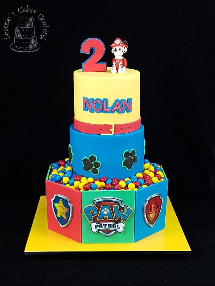 9 best Leannes Cakes Paw Patrol images on Pinterest Paw