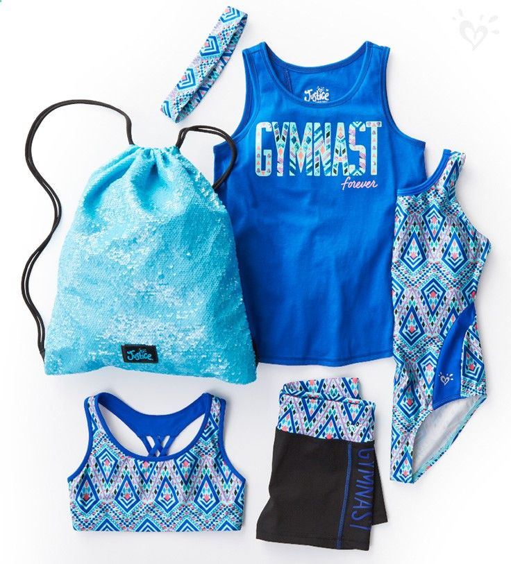 High-performance tanks, tees, shorts and leggings for every back handspring and and handstand!