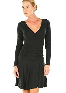 Long sleeve ballerina dress