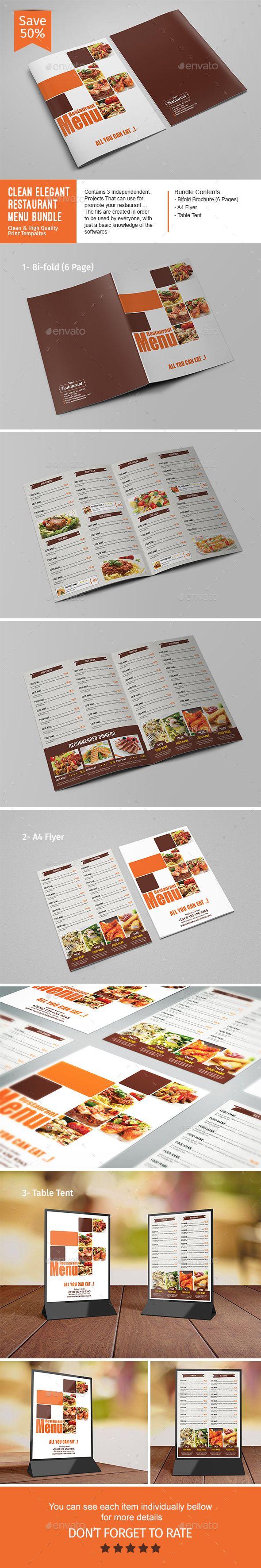 Best Food Design Images On   Menu Templates Print