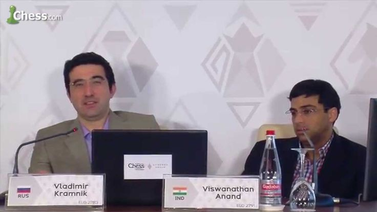 Viswanathan Anand and Vladimir Kramnik Talk About Modern Chess
