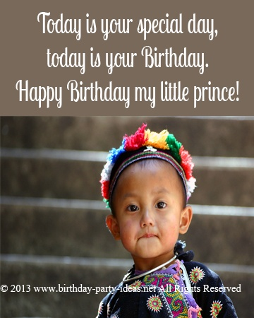 Birthday Quotes For A Little Boy
