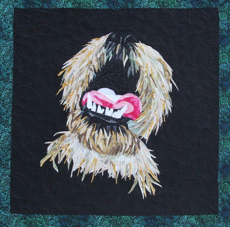 """Yogi Bear"" quilt by Kathy Zieben 2013"