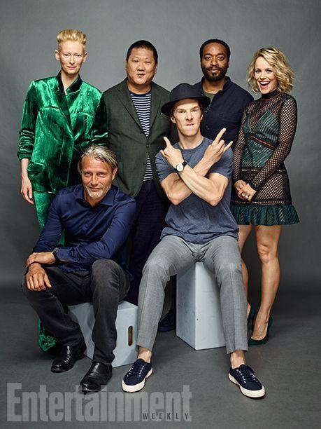 Comic-Con 2016: See Portraits of Marvel Studios Stars | Tilda Swinton, Benedict Wong, Rachel McAdams, Chiwetel Ejiofor, Benedict Cumberbatch and Mads Mikkelsen, 'Doctor Strange' | EW.com
