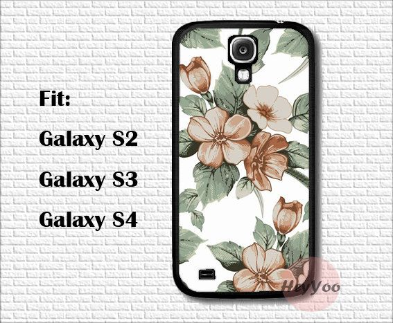 Samsung Case cover  Vintage floral Flower Galaxy S2 case by HeyYoo, $10.99