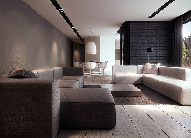 Y-house interior design, pabianice | TAMIZO ARCHITECTS