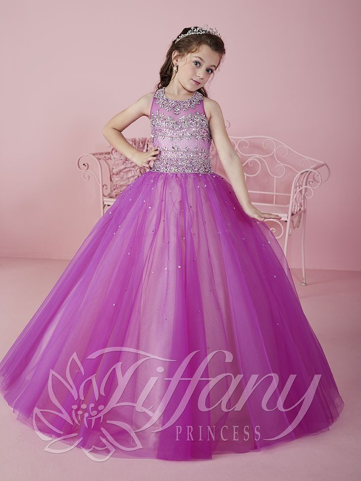 Flower Girl Vestido #13460 Lovely flower girls from tiffany collection #mipresentacion #presentaciondresses #vestidospara3años