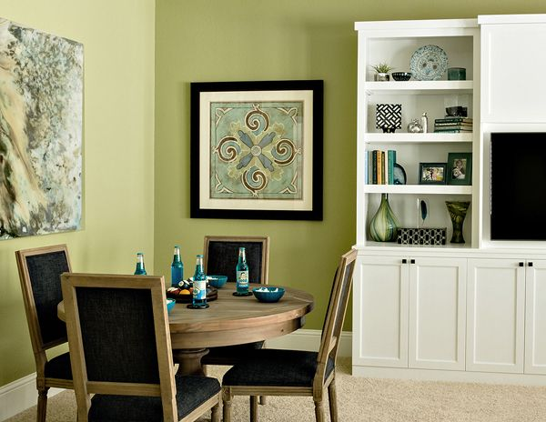 Sherwin Williams Ryegrass Living Rooms Pinterest Painted Wainscoting Family Game Rooms