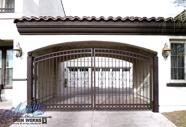 61 Best Wrought Iron Driveway Gates Images On Pinterest