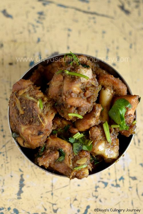 Spicy Andhra Chicken Fry