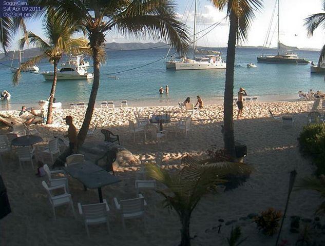 White Bay, pláž