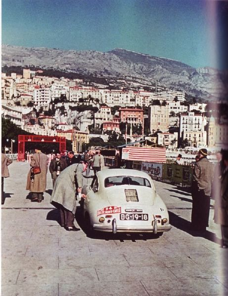 1953 Monte Carlo Rally