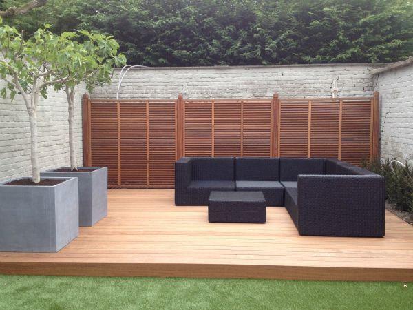17 beste idee n over houten terras op pinterest pergola schaduw patio en goedkope - Terras hout ...