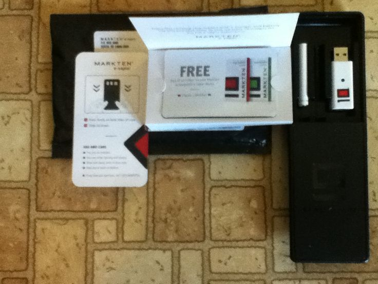 Free MarkTen e-vapor Starter Kit - With a coupon for a Free Refill #freestuff #freebies #samples #free