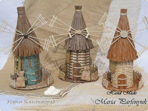 Поделка изделие День защиты детей Плетение Майские хлопоты Бумага газетная Картон Трубочки бумажные фото 1