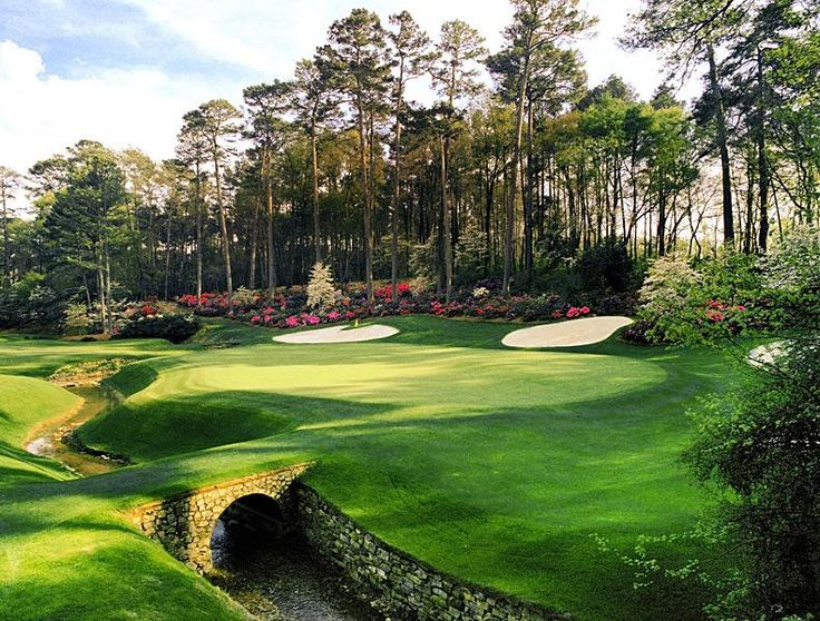 Augusta National Golf Club -- No. 13: Par 5, 510 yards -- Augusta, Ga.