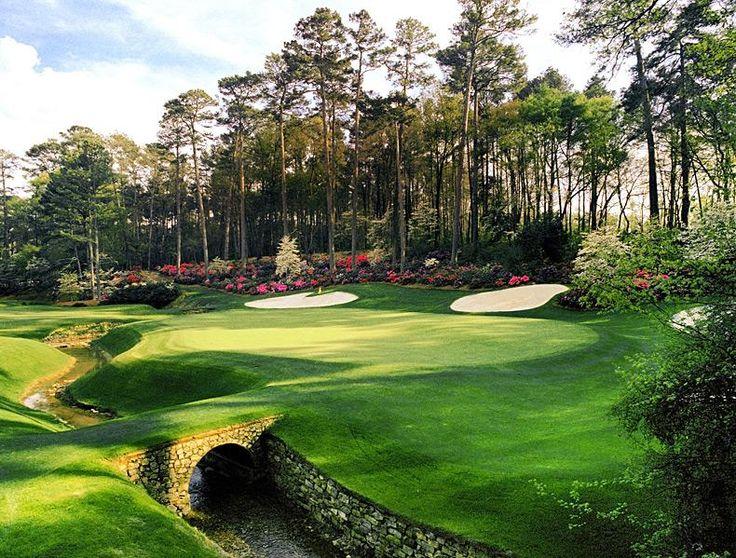 Augusta National Golf Club -- No. 13: Par 5, 510 yards -- Augusta, Ga.