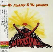 Bob Marley's Uprising album (Japanese version)