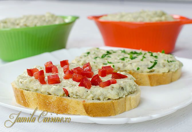 Salata de vinete cu maioneza – reteta video
