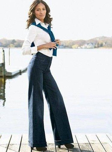 ispanyol paça resmi pantolon