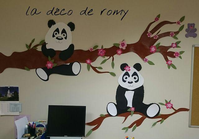 La déco de Romy:     décoration murale   fresque d...
