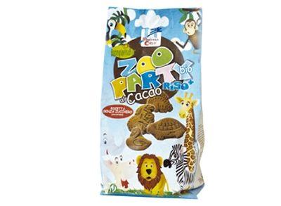 Zoo party koekjes met rijstdrank