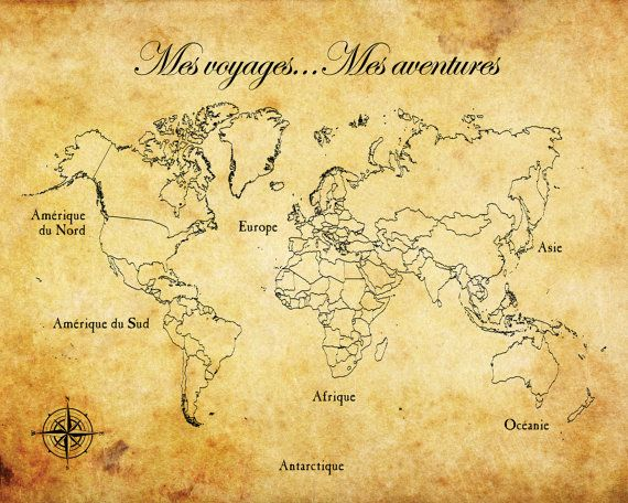 "Custom Listing for Melanie: Personalized Pinnable World Travel Map, 16""x20"""