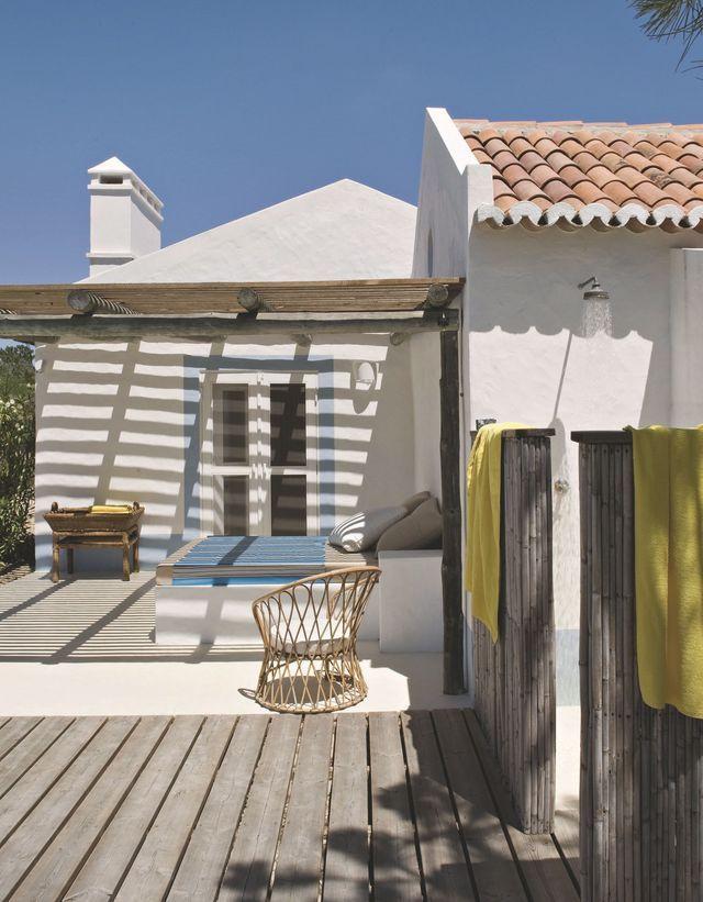 Maison de vacances au portugal refaite par des d corateurs nature lits ext rieurs et f tes - Decorateur exterieur ...
