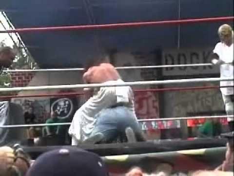***1:47...ICP & Sabu vs Pondo, Necro Butcher & Chuck Hogan GOTJ 2004 part 1