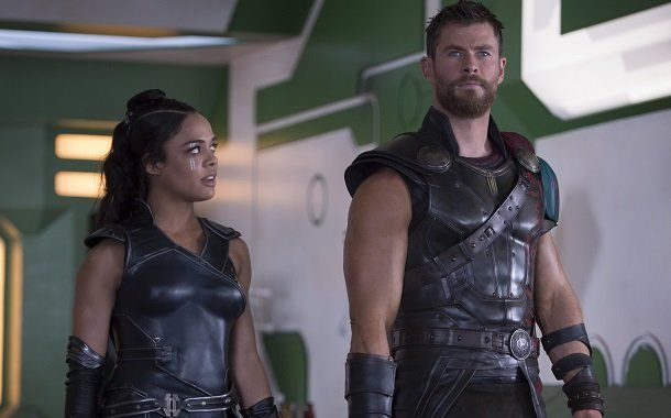 A same-sex moment in the latest Thor movie unfortunately ended up on the cutting room floor.  Actress Tessa Thompson (pictured above, left) plays Asgardian warrior Valkyrie in superhero sequel Thor: Ragnarok, released late last month.   #film #marvel #movies #tessa thompson #thor