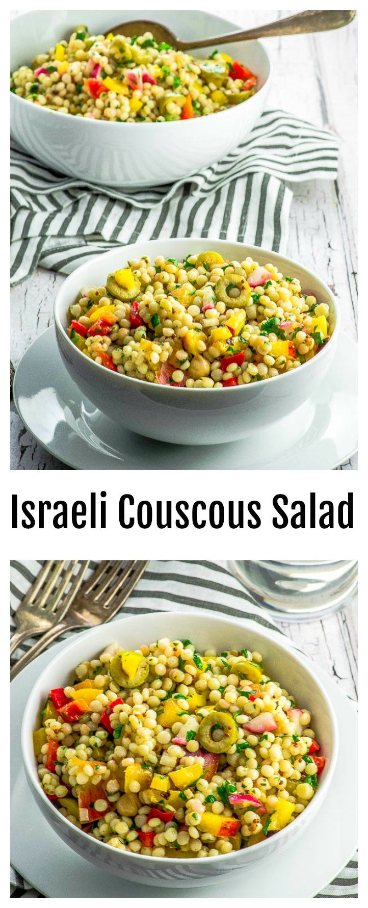 This super versatile Israeli Couscous Salad can be…
