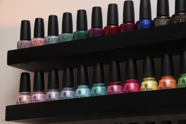 the 25 best nail polish shelves ideas on pinterest nail. Black Bedroom Furniture Sets. Home Design Ideas