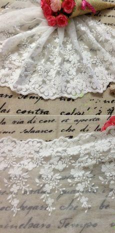 5 ярды / серия ширина 34 см белый винтаж сетка кружевной окантовкой, Бесплатная доставкакупить в магазине Love CraftнаAliExpress