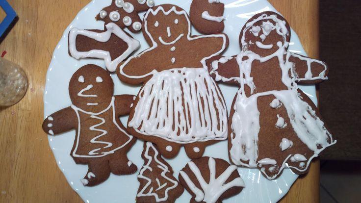 Akinajka Art For Kids: Malujemy domek kartonowy, pieczemy pierniczki i mu...
