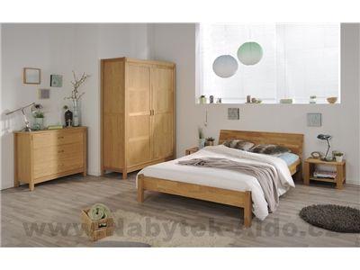Nábytek do ložnice z dubového dřeva Garden 3551