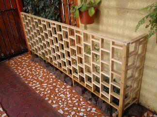 Cercos de madera - Construcciones - Santiago