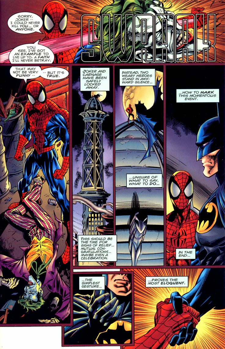 spider man vs batman | Batman vs Spiderman - Page 15>>>>>> tjis awesome and I don't know if I put it on my batman or Spiderman board...both it is!!