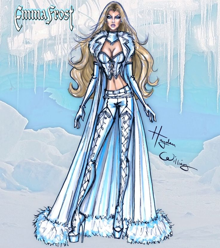 Marvel Divas by Hayden Williams : Emma Frost