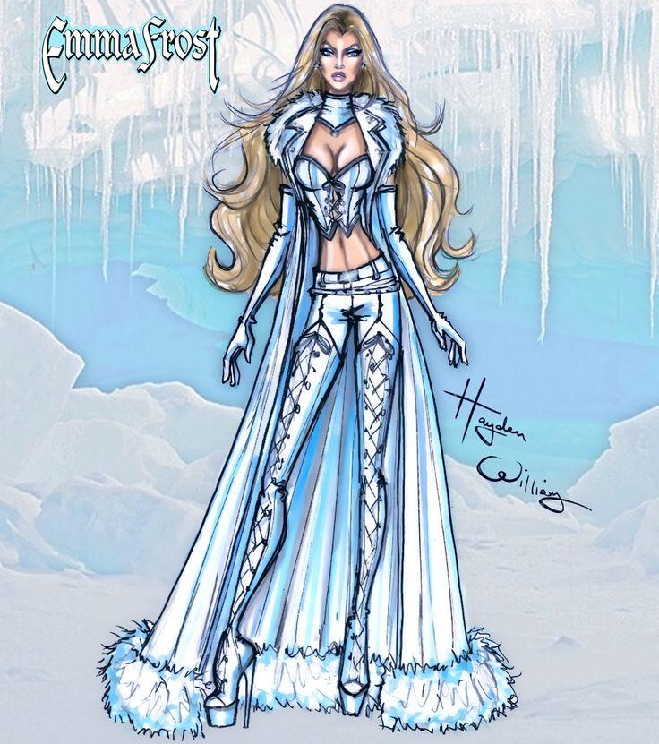 Marvel Divas by Hayden Williams : Emma Frost