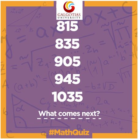 What will be coming next? #brainteaser