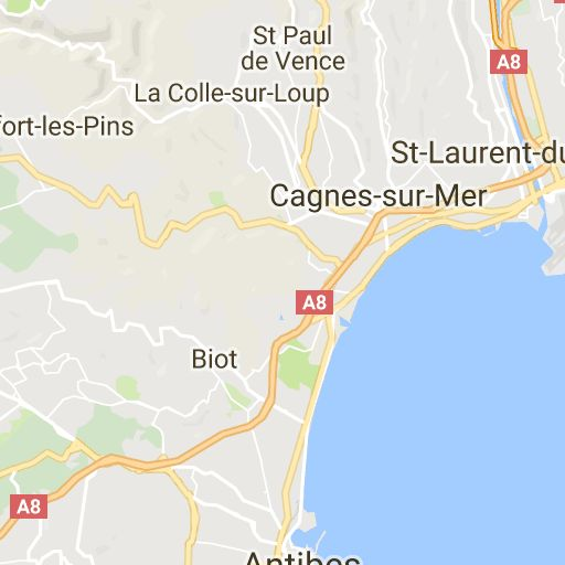 Campsite France La Colle sur Loup - CAMPING LES PINEDES **** - Provence Alpes Cote d'Azur