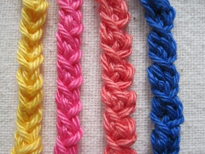 Simple Crochet Braid Trims - tutorial