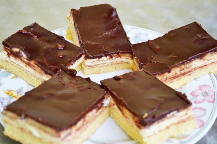 Ein sehr genußvolles Rezept, dem keiner wiederstehen kann sind Bananen-Schnitten mit Schokolade überzogen. Köstlich!