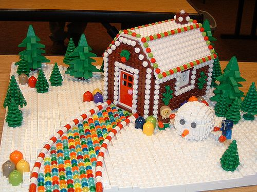 LEGO GingerBread House   Flickr - Photo Sharing!