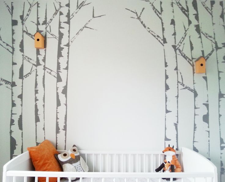 Best 25 birch tree mural ideas on pinterest for Diy birch tree mural