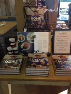 The lovely James Martin Chef #Home Comforts book - signed and in store right now!